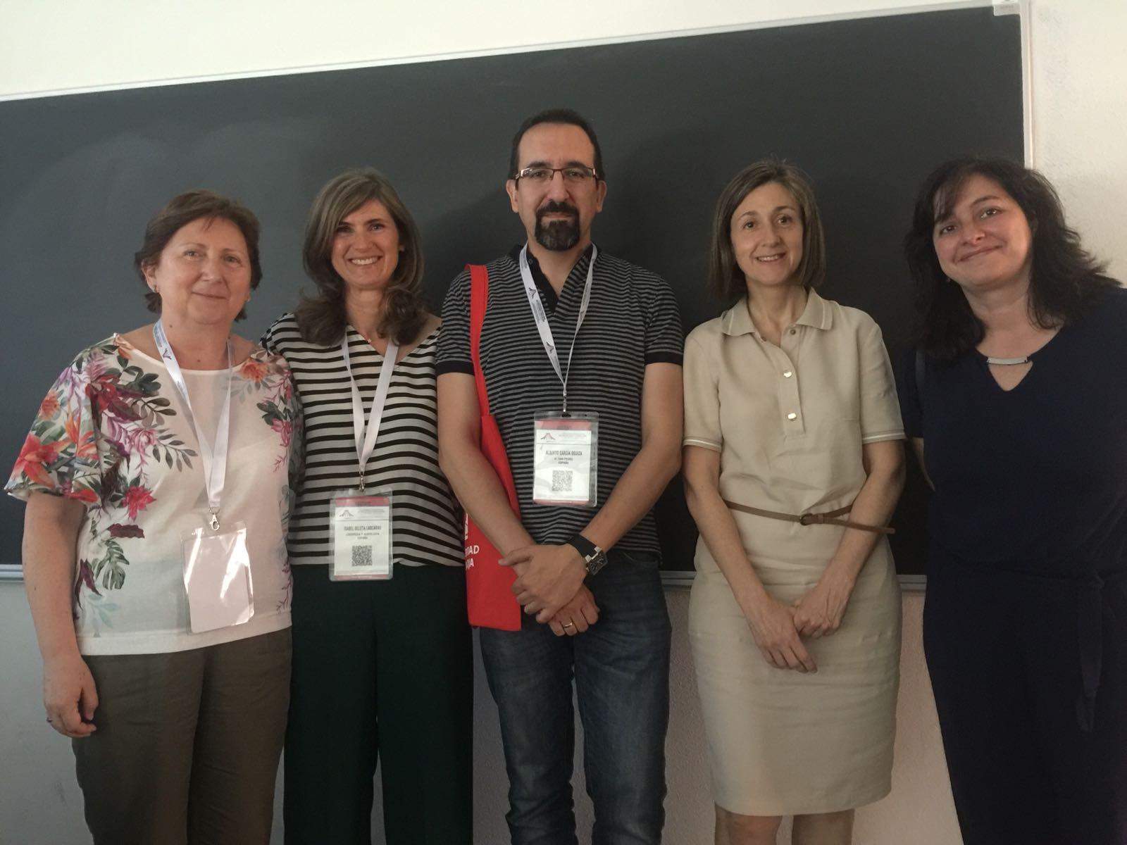 Participantes del simposio